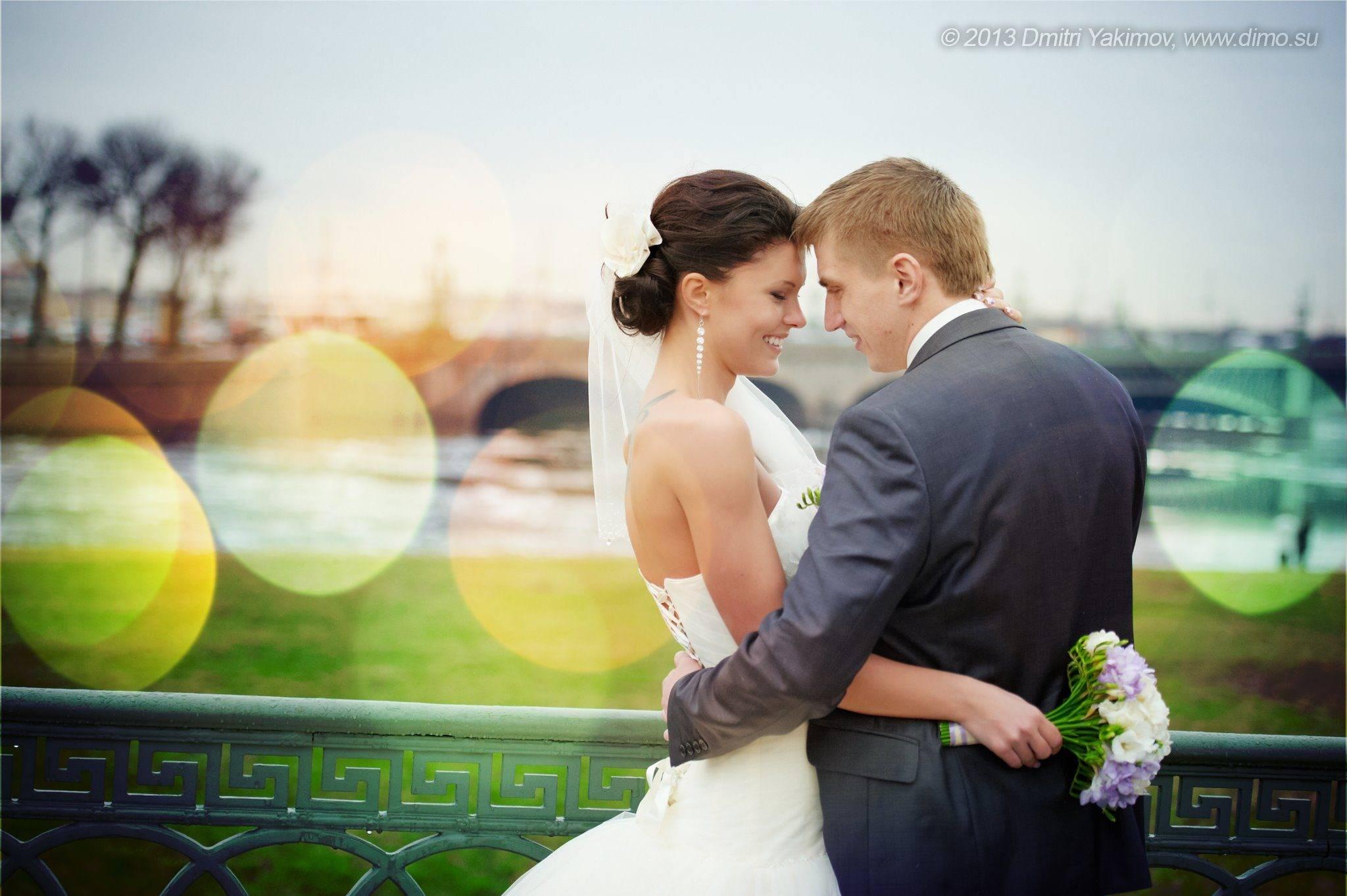 свадебные фотографии от Дмитрия и Юли