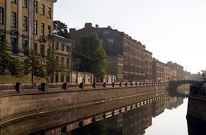 Санкт-Петербург, канал Грибоедова, где проживал с 1977 по 2005 год Дмитрий Якимов с www.dimo.spb.ru