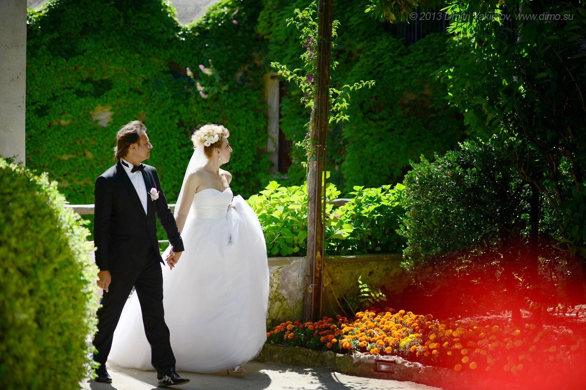 свадебные фото за границей