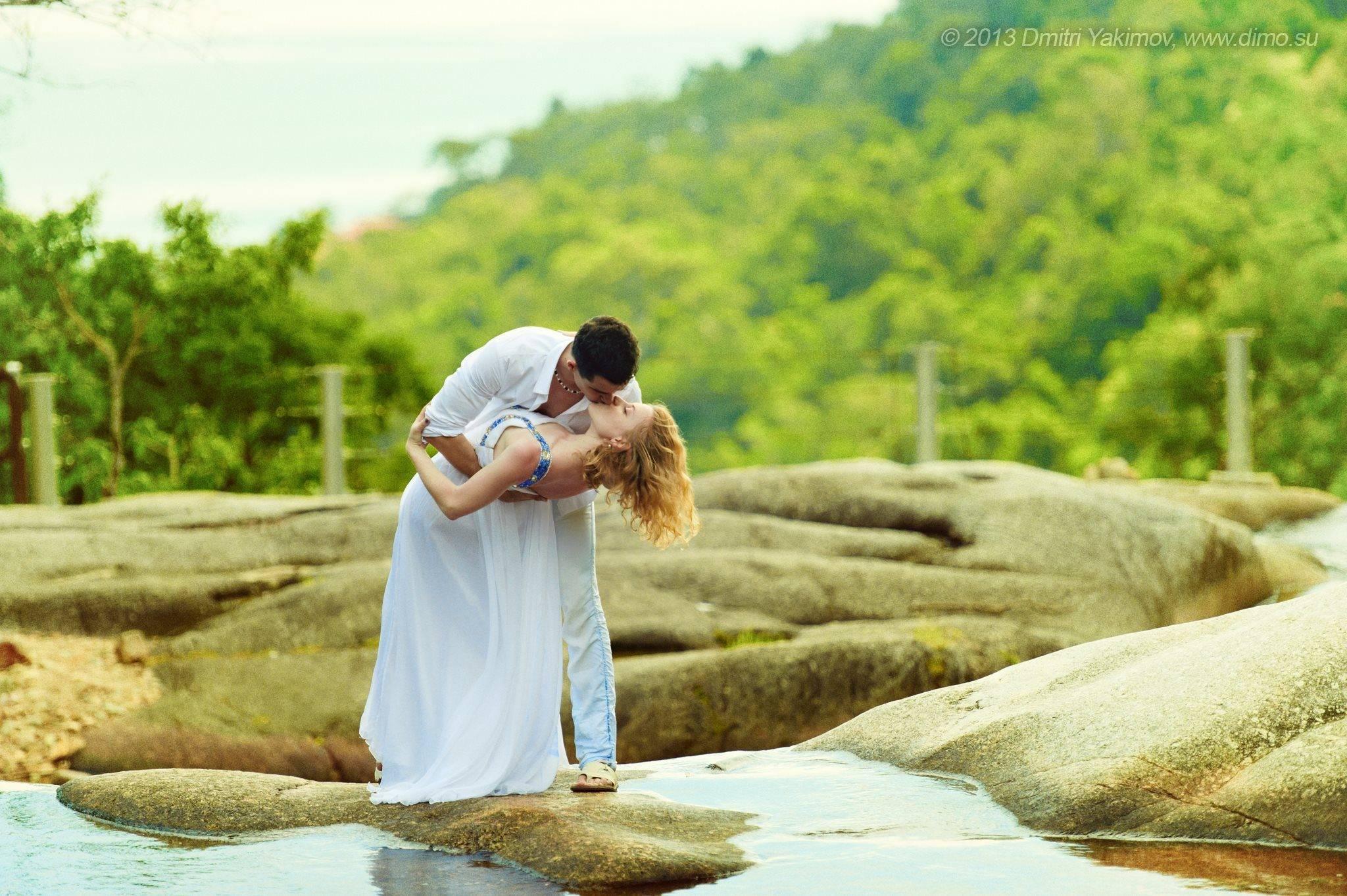 Свадебные фотосессии за границей