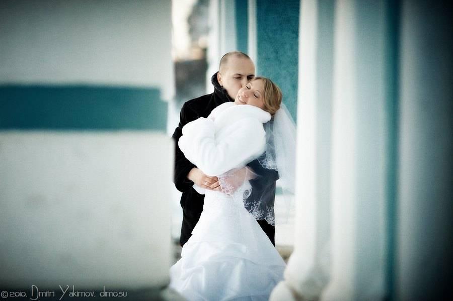 зимний свадебный фотограф