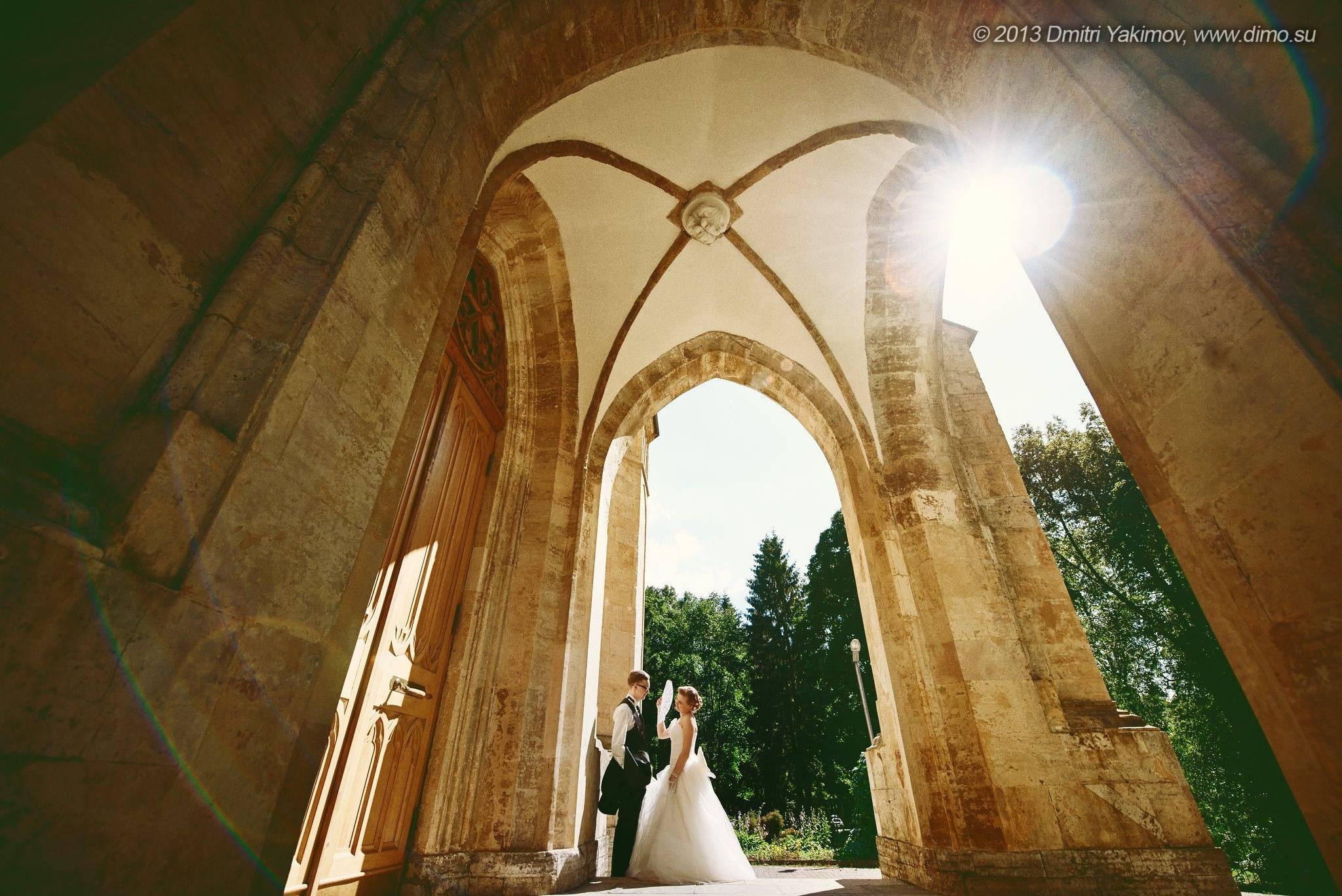 Хорошие свадебные фотографии Марии и Виталия. Свадебное фото от фотографа Дмитрия Якимова, Петербург
