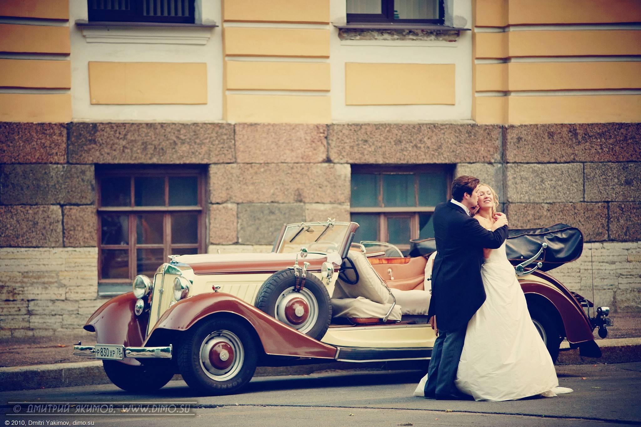 Заказать ретро автомобиль  на свадьбу 3