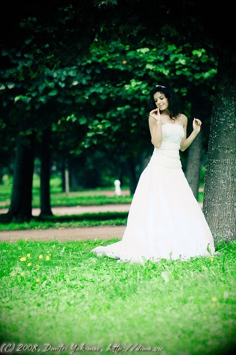 Свадебное фото августа. Ольга