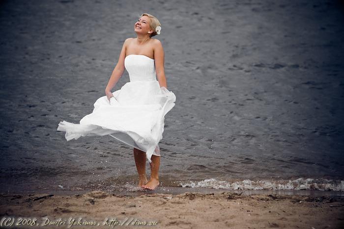 невеста. невские берега.