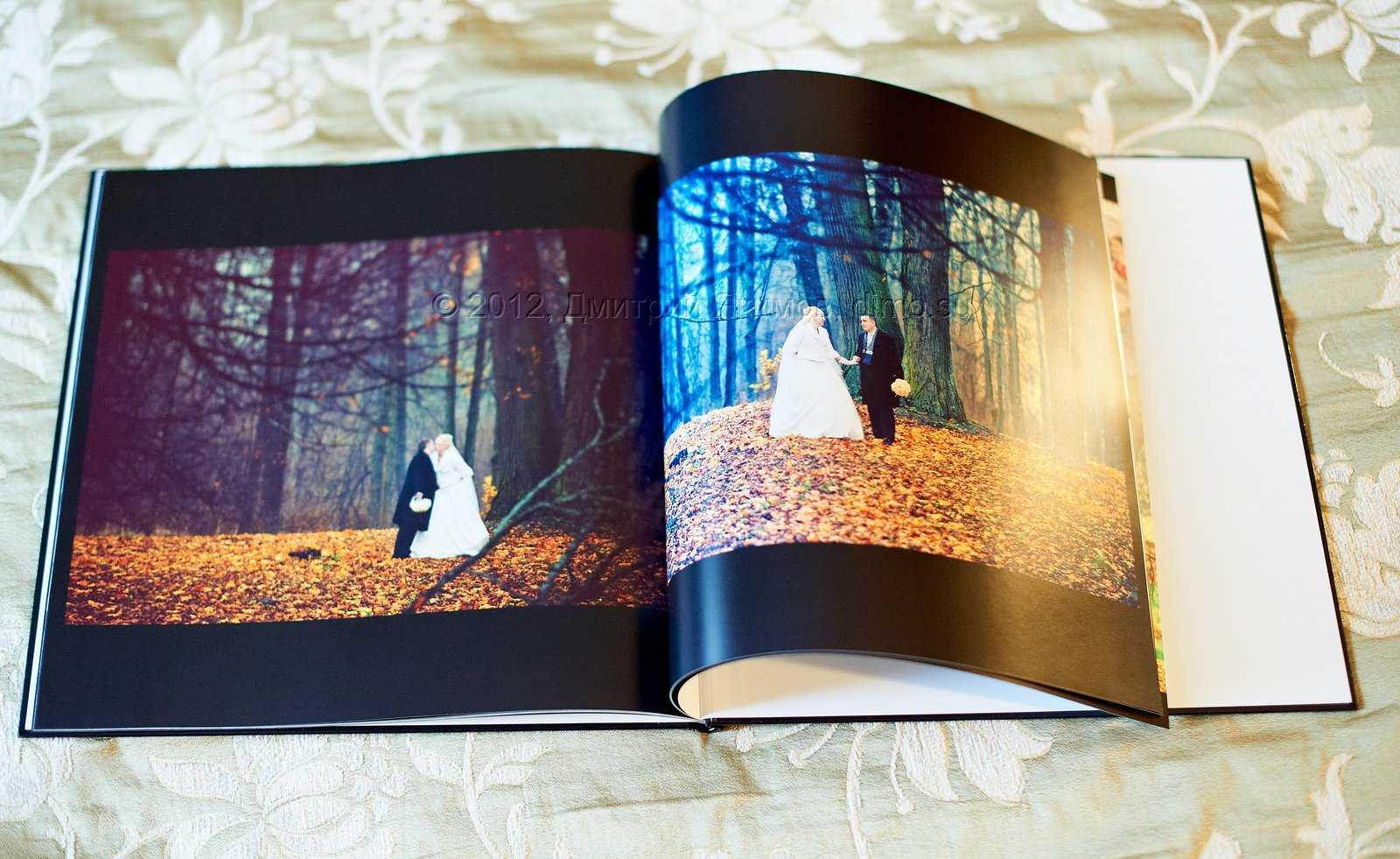 свадебные фотокниги, образцы
