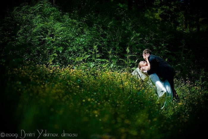 трава скроет влюблённых