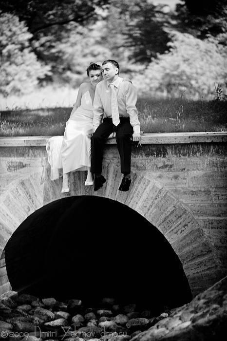 свадебная фотосъёмка в пригороде спб