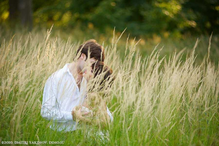 Свадебный фотограф летом