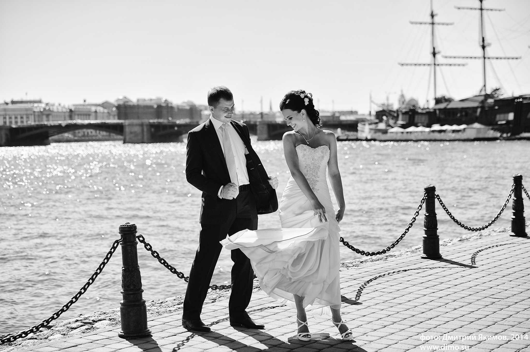 Красивые свадебные фотоснимки