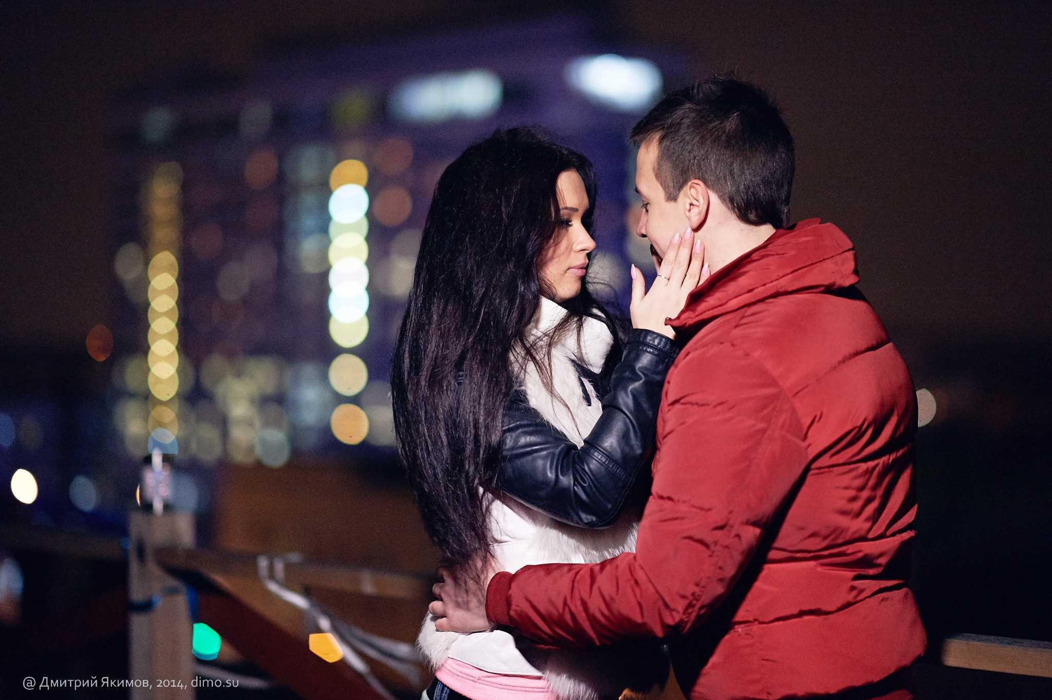 романтические ночные фотосессии