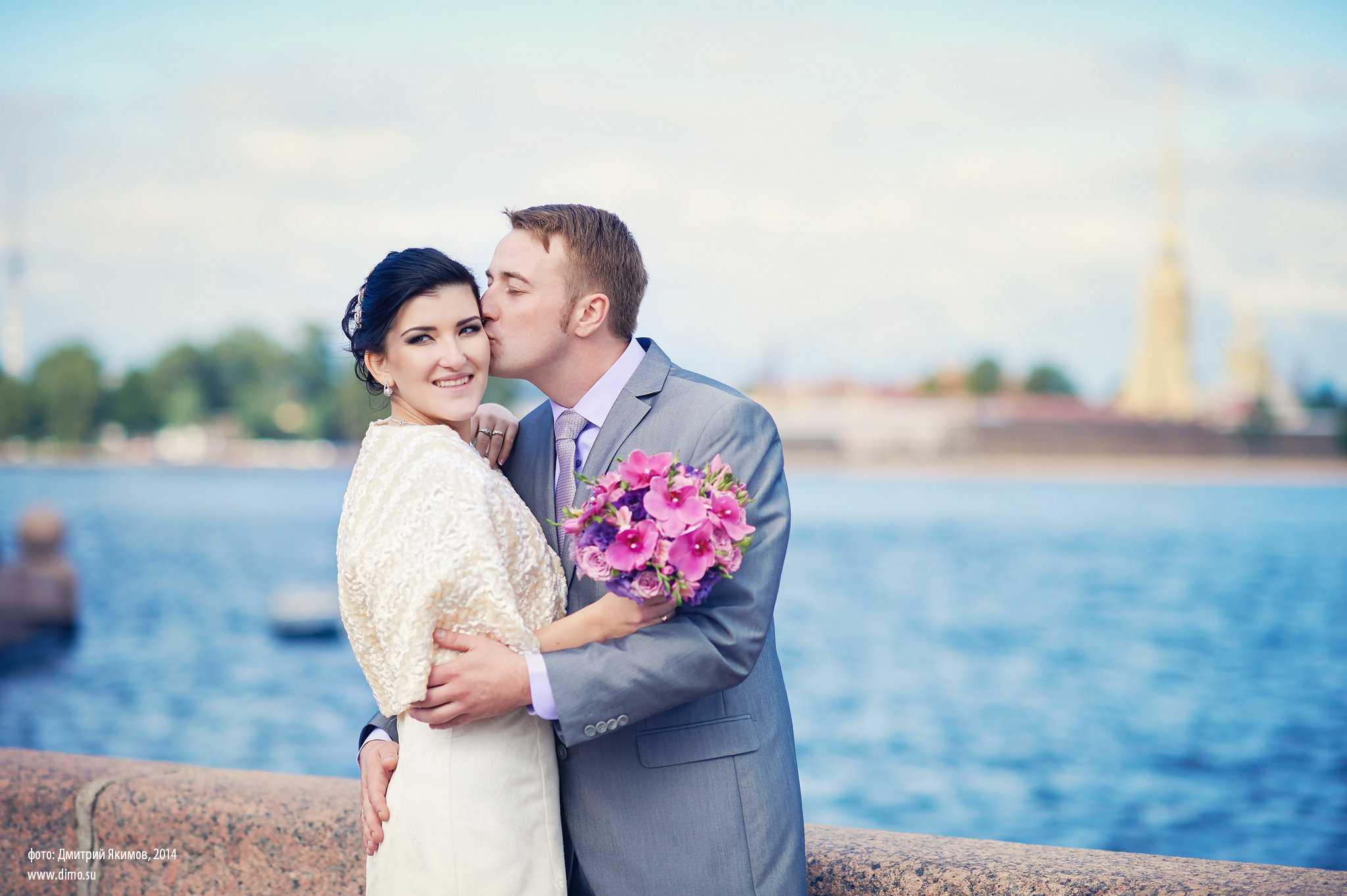 Фотосессии на свадьбу в Петербурге