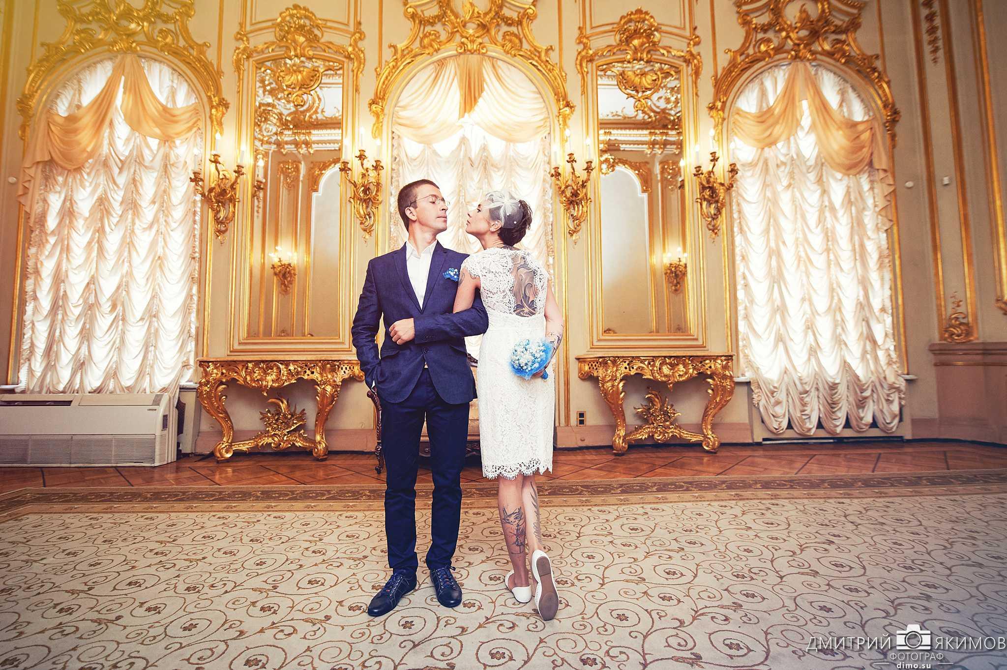 Дворец бракосочетаний Санкт-Петербурга - Золотая гостиная