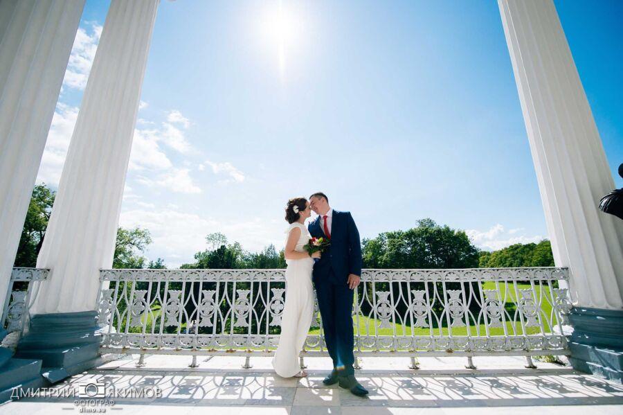 Свадебная прогулка в Пушкине