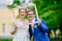Свадебные фотоаксессуары
