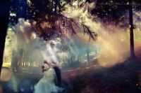 мистические свадебные фото